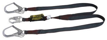 Miller Arc-Rated Dual leg Shock-Absorbing Lanyards - 6ft