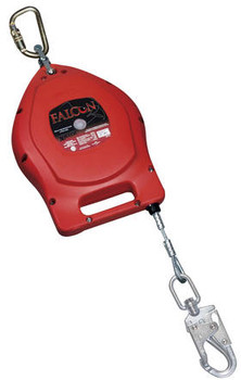 Miller Falcon™ Self-Retracting Lifeline (Cable) 20 ft - 65 ft