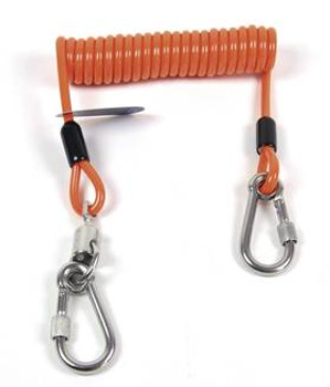 Coil style tool lanyard 5- lbs. capacity
