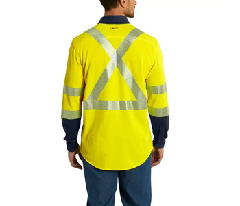 Flame-Resistant High-Vis Force Hybrid Shirt