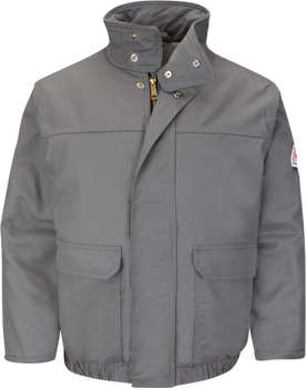 Bulwark EXCEL FR® ComforTouch® Insulated Bomber Grey JLR8GY