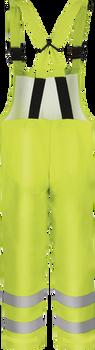 Bulwark Hi Visibility Rain Bib Overall ASTM F 2733 BXN4YE 19 cal/cm²