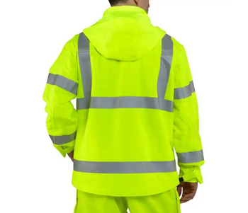 High-Visibility Class 3 Waterproof Jacket