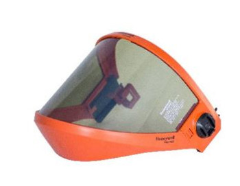 Salisbury 10 Calorie Arcshield with Chin Cup, Bracket and Hard Hat Bracket with SPL lens
