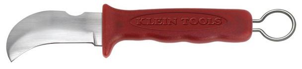 Kien Cable/Lineman's Skinning Knife -- Hook Blade, Notch & Ring ## 1570-3 ##