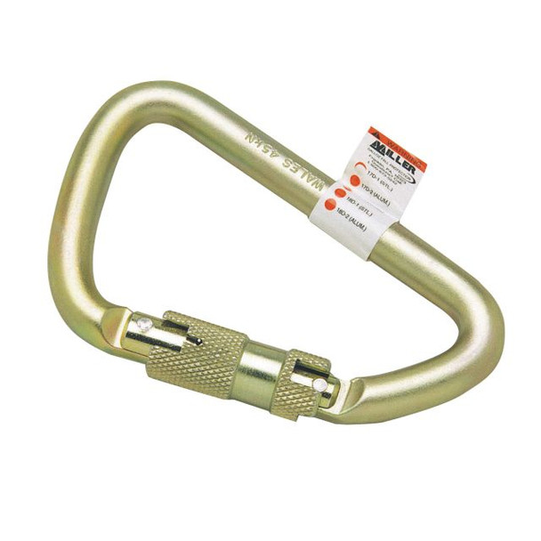 Miller Steel Twist-Lock Carabiner ## 17D-1 ##