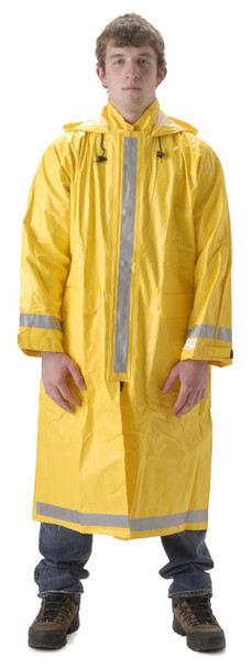 Arclite High Visibility 1000 - Full Length Raincoat - Yellow ## 1103CY ##