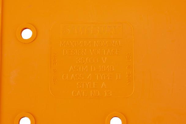 Class 4 Salisbury 13 Insulated Blanket 22X22 Eyelet-28 36,00VAC