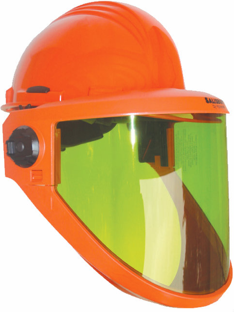 Salisbury AS1200HAT Arc Flash Face Shield with Hard Hat ## AS1200HAT ##
