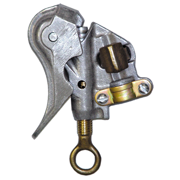 """Salisbury By Honeywell 1.1"""" Smooth Jaw Aluminum Clamp -- Spring Loaded ## 24404 ##"""