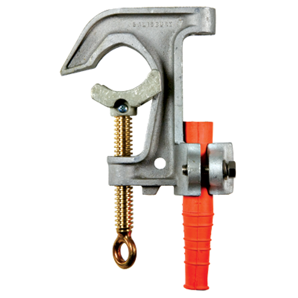 """Salisbury By Honeywell 2""""?? Aluminum """"??C""""?? Clamp with Curved Lower Jaw ## 21074 ##"""