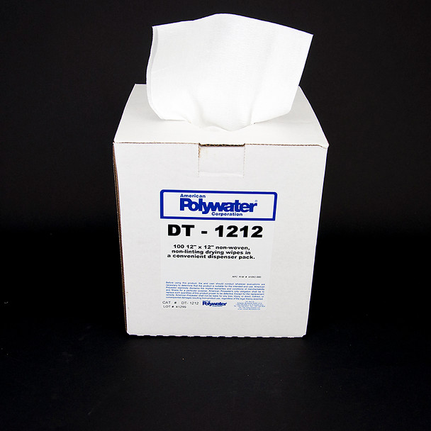 100-Count 12-inch X 12-inch Dry Towels  ##DT-1212##