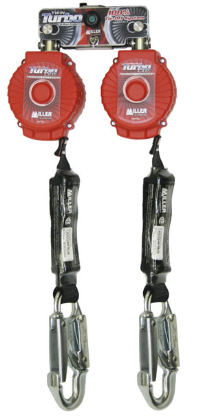 Miller Twin Turbo Fall Protection Systems with D-Ring Connector 6-ft