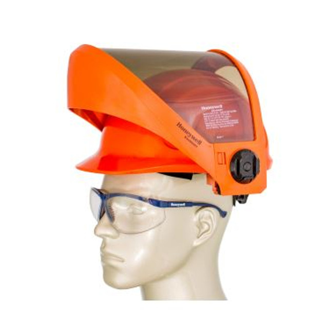 10 Cal/cm2 face shield with N10 hard hat