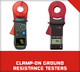 Clamp-On Ground Resistance Testers