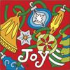 6x6 Tile JOY Ornament Toss