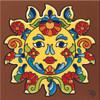 "6X6 Tile Talavera Sun ""Naturals"""