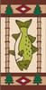 3x6 Tile Lodge Fish Right