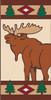 3x6 Tile Lodge Elk Right