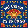 6x6 Tile Talavera Mi Casa Cobalt 7919C