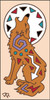 3x6 Tile Howling Coyote Sand 3018A