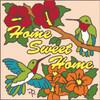 6x6 Tile Home Sweet Home Hummingbird