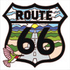 6x6 Tile Route 66 Hummer White