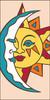 3x6 Tile Southwest Sun Moon Sand