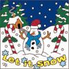 6x6 Tile Let it Snow 7715A