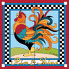 12x12 Tile Mural Rise & Shine Rooster
