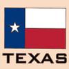 6x6 Tile Texas Flag Tile