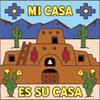 6x6 Tile Mi Casa Es Su Casa with Cactus