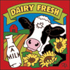 6x6 Tile Dairy Fresh Cow 8040A