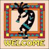 6x6 Tile Welcome Koko