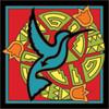 6x6 Tile Native American Hummingbird