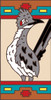 3x6 Tile Southwest Roadrunner Left