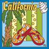 6x6 Tile California Flip Flops 7654A