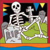 6x6 Tile Day Of The Dead RIP 8309A