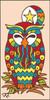 3x6 Tile Nesting Owl Sand 13030A