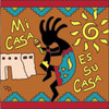 6x6 Tile Mi Casa Koko Terracotta 7695R