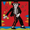 6x6 Tile Day Of The Dead Michael 7698A