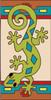 3x6 Tile Southwest Gecko Right