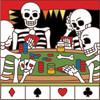 6x6 Tile Day of the Dead Poker Game