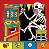 6x6 Tile Day of the Dead Slot Machine