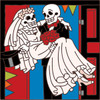 6x6 Tile Day of the Dead Over the Threshold 7878A