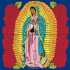 12x12 Tile Mural Our Lady of Guadalupe