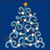 6x6 Tile Whimsy Christmas Tree