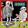 6x6 Tile Day of the Dead X-Ray