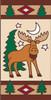 3x6 Tile Lodge Cutsey Moose Left