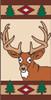 3x6 Tile Lodge Deer Right